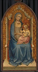 Lorenzo Monaco: Virgin and Child