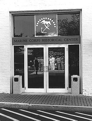 Marine Corps Museum - Image: Marine Corps Historical Center 001