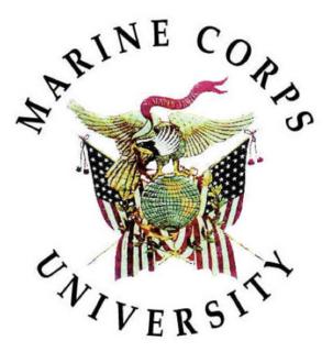 Marine Corps University University for the U.S. Marine Corps