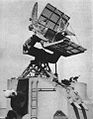 Mark 37 Gun Fire director with Mk 12-22 antennas c1948.jpg