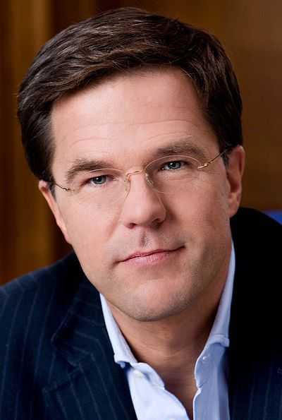 Mark Rutte, Leader since 2006 and Prime Minister of the Netherlands since 2010 Mark Rutte-6 (cropped).jpg