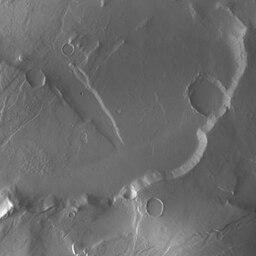 Fotografía de la Sonda Dawn de la superficie de marte