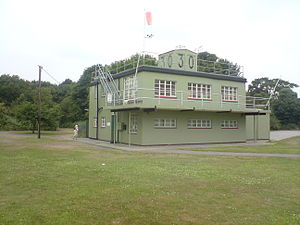 RAF Martlesham Heath - The control tower is now a museum.