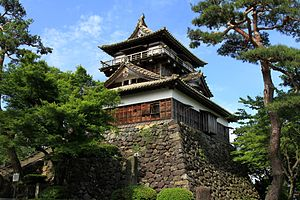 Sakai, Fukui - View of Maruoka Castle, one of famous for sightseeing spot in this city