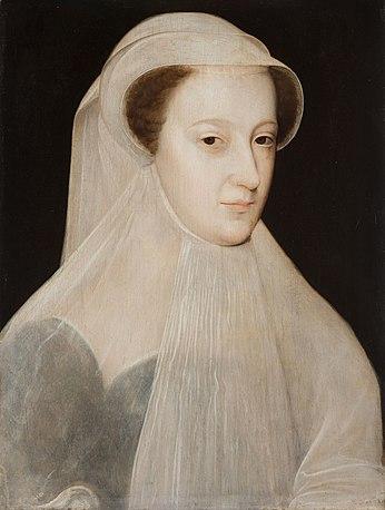 Мария Стюарт после возвращения в Шотландию