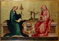 Mary and Elizabeth spinning, (ca.1400, Nuremberg).png