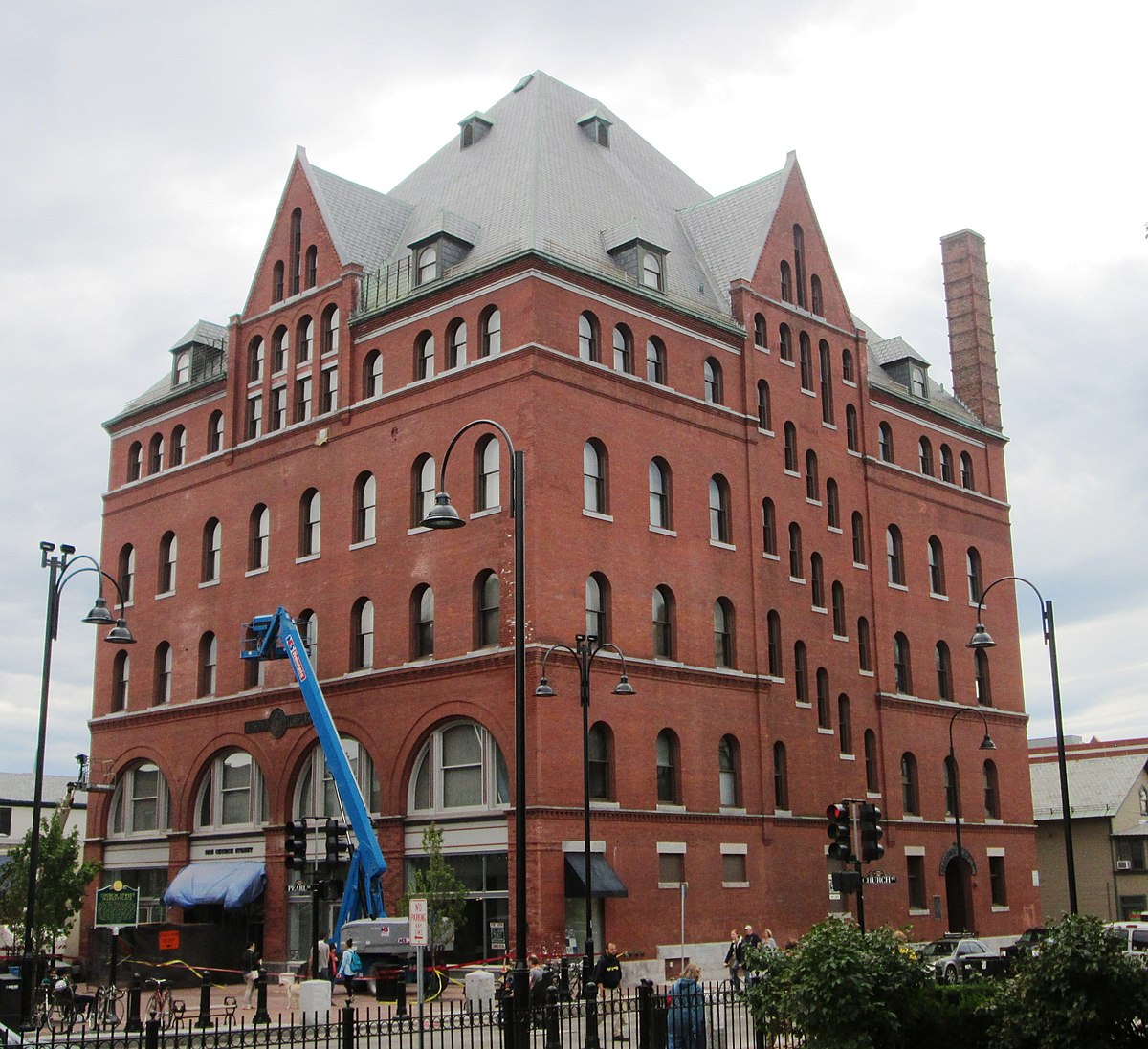 South Burlington: Masonic Temple (Burlington, Vermont)
