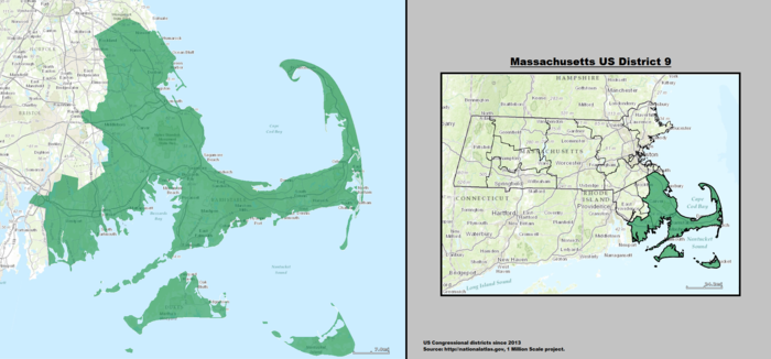 United States Congressional Delegations From Massachusetts Wikiwand - Massachusetts us house of representatives district map