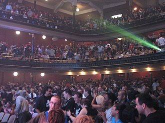 Massey Hall - Interior of Massey Hall during Video Games Live concert series in 2006.