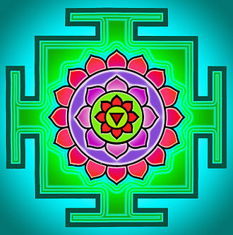 Matangi - The yantra of Matangi, which is used in her worship