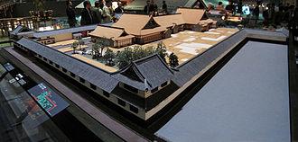 Edo-Tokyo Museum - 1/30 scale architectural model of the Kamiyashiki of Matsudaira Tadamasa