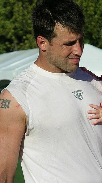 Matt Wilhelm - Wilhelm at 49ers training camp in August 2010