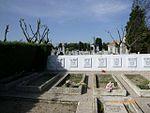 Mausoleo de la Legión Cóndor en el cementerio de la Almudena durante el desmontaje del frontal 02.jpg