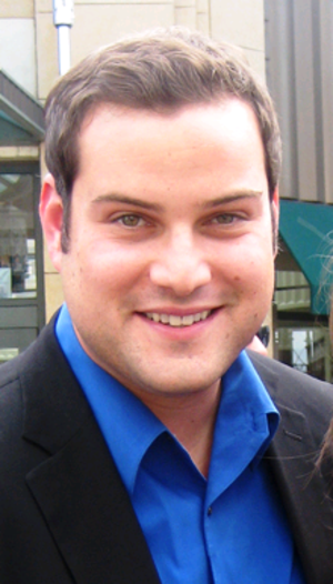 On My Way (Glee) - Max Adler (pictured) was praised for his portrayal of Dave Karofsky in this episode