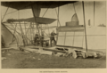 Maxim's Experimental Flying Machine, with crew - Cassier's 1895-04.png