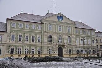 Vas County - Countyhall of Vas.