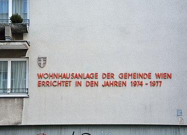 Meiselstraße 36-42, Vienna - inscription.jpg