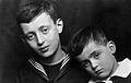 Melanie Klein's sons. Wellcome L0026675.jpg