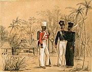 Members of a Nair brigade