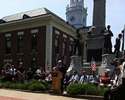 Memorial Day Observance in small New England town