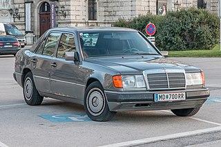 Mercedes-Benz W124 Motor vehicle