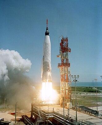 Mercury-Atlas 3 - Launch of MA-3