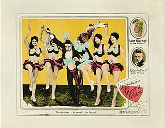 The Merry Widow (1925 film) - Alternate poster.