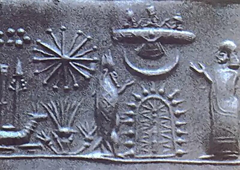 File:Mesopotamian cylinder seal impression.jpg