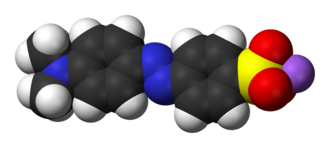 Methyl orange - Image: Methyl orange 3D vd W