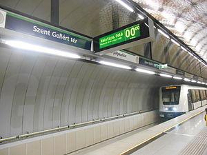 Line 4 (Budapest Metro) - Image: Metro 4, Budapest