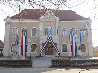 Mezőkeresztes Town in Borsod-Abaúj-Zemplén, Hungary