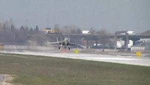 File:MiG-29, Landing, Lviv (HD).ogv