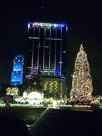 One Biscayne Tower - Image: Miamixmastree