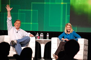 Marissa Mayer - Michael Arrington and Marissa Mayer at TechCrunch Disrupt