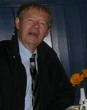 Mícheál Ó Muircheartaigh - Micheál Ó Muircheartaigh in Villa Maria, Waterville, 2012