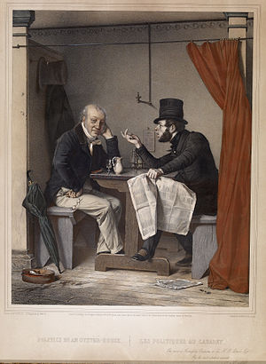 Participation (decision making) - Michel Fanoli - Politics in an Oyster House Dedicated To HB Latrobe Esq - Walters 93145