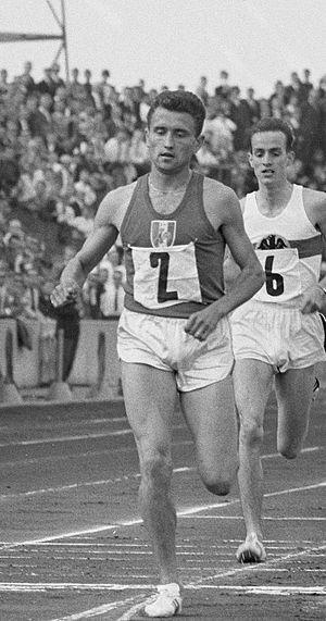 Michel Jazy - Michel Jazy in 1963