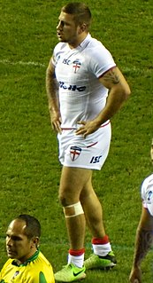 Michael McIlorum England & Ireland international rugby league footballer