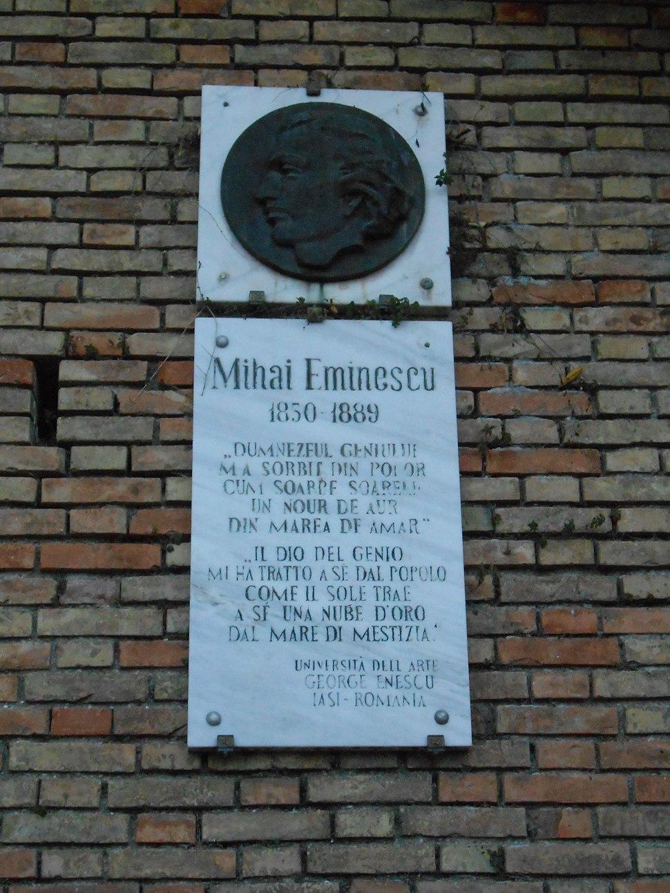 Mihai Eminescu, Recanati
