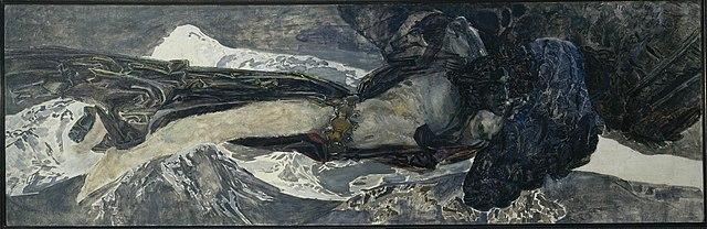 Демон летящий. 1899, Государственный Русский музей