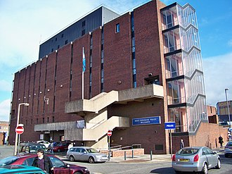 Peter Sutcliffe - Millgarth Police Station in Leeds city centre, where the Yorkshire Ripper police investigation was conducted.