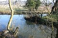 Mill race and River Darent meet, Shoreham - geograph.org.uk - 1731999.jpg