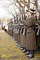 Ministru prezidents Valdis Dombrovskis piedalās svinīgajā vainagu nolikšanas ceremonijā Rīgas Brāļu kapos (8174961609).jpg