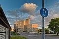 Minkkikuja street and the apartment building of Naalipolku 2 in Metsola, Vantaa, Finland, 2021 May.jpg