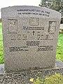 Minnestøtte (Memorial stone) Norrønafolket det vil fare (The Norsemen sailed and settled) ved Emigrantkyrkja (Brampton Lutheran Church, North Dakota) & Vestnorsk utvandringssenter i Radøy, Hordaland, Norway 2017-10-03 b.jpg