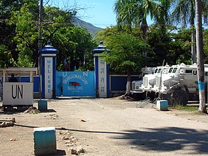 United Nations Security Council Resolution 1542 - A MINUSTAH base in Haiti