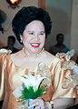 Miriam beams as she attends a wedding as a sponsor.JPG