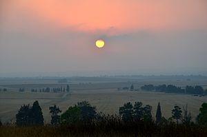 Mishmar HaNegev - Mishmar HaNegev landscape