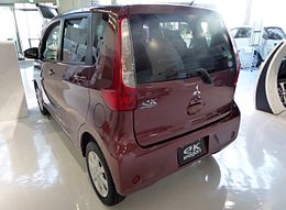 Mitsubishi eK wagon G e-ASSIST (B11W) rear.JPG