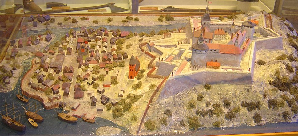 Model baahus fortress sweden